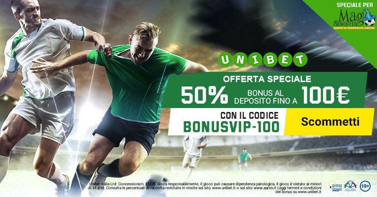 Unibet MagoPronostico Bonusvip 100
