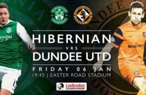 hibernian-dundee - championship scozia