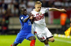 Bielorussia - Qualificazioni mondiali calcio e migliori bonus online