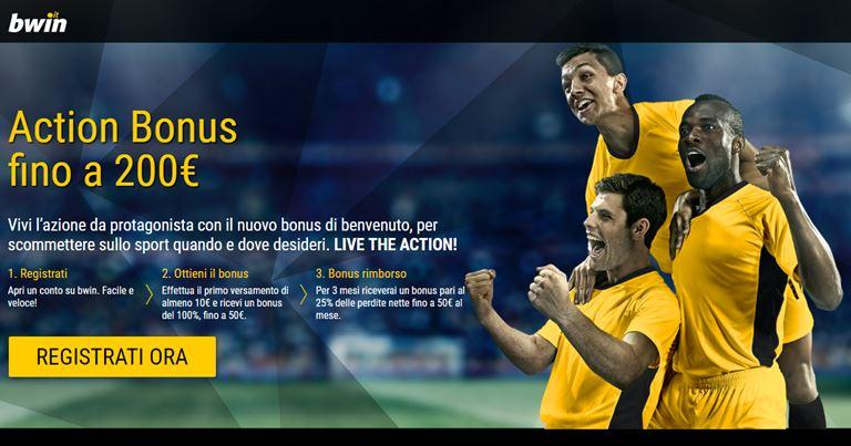 Bwin Bonus Scommesse Sportive