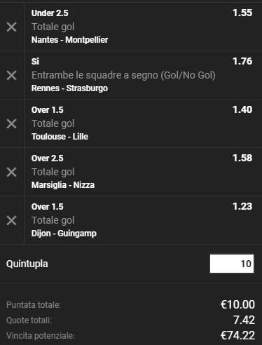 schedina ligue 1 05-05-2018_