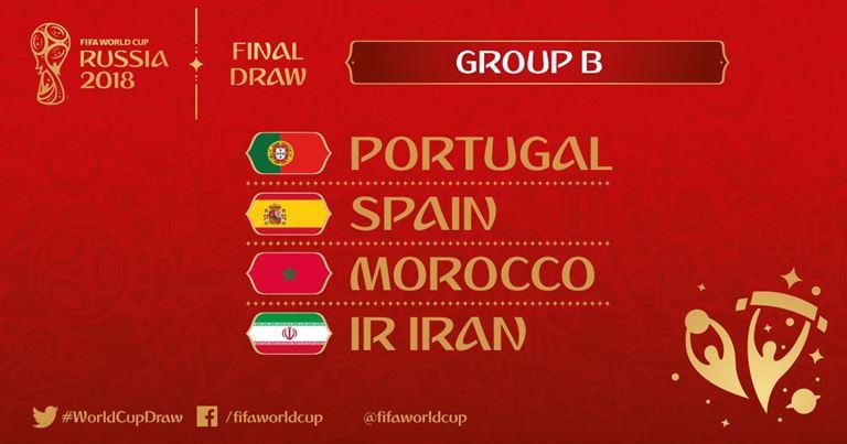 Mondiali 2018 - Gruppo B