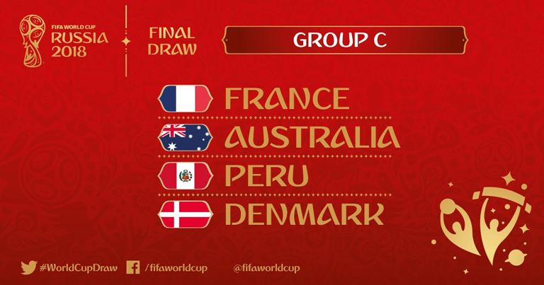 Mondiali 2018 - Gruppo C
