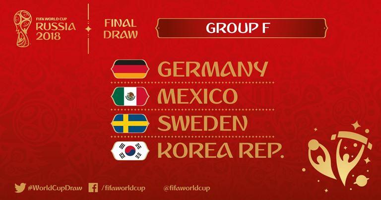Mondiali 2018 - Gruppo F