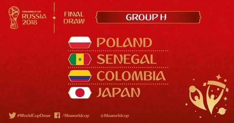 Mondiali 2018 - Gruppo H