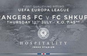 Rangers - Pronostici preliminari Europa League