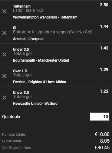 Schedina Premier League 03-11-2018_